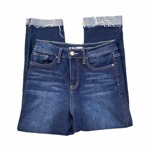 YMI Vintage Dream Solid High Rise Ankle Jeans